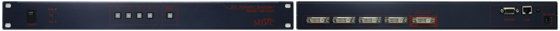 Max Digital Tech DVI Selector Switcher MMS-401DVI