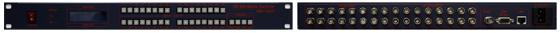 맥스디지털테크(주) HD SDI Matrix Switcher MMS-1600HD 1