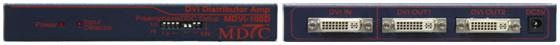 Max Digital Tech DVI Distributor Amp MDVI-100D