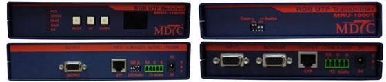 Max Digital Tech RGB UTP TX & RX MRU-1000T/R
