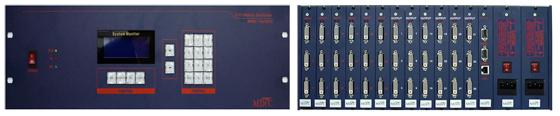 맥스디지털테크(주) DVI Matrix Switcher MMS-1800DVI