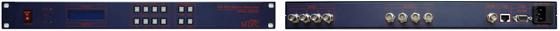 맥스디지털테크(주) HD SDI Matrix Switcher MMS-400HD 1