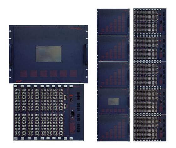맥스디지털테크(주) RGB Matrix Switcher MRMS-128S
