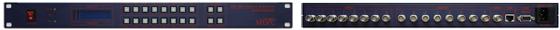 맥스디지털테크(주) HD SDI Matrix Switcher MMS-800HD 1