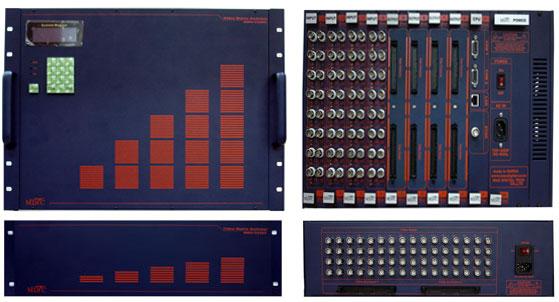맥스디지털테크(주) Video Matrix Switcher MMS-V64 Series 2