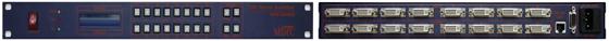 맥스디지털테크(주) DVI Matrix Switcher MMS-800DVI 1