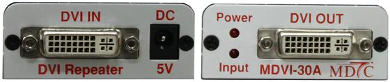 맥스디지털테크(주) DVI Repeater MDVI-30A