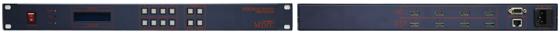 맥스디지털테크(주) HDMI Matrix Switcher MMS-400HDMI