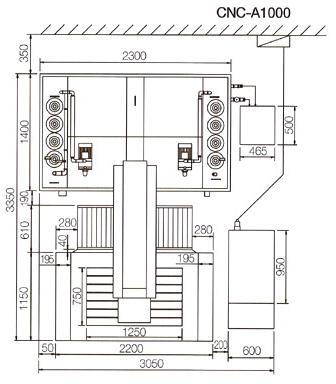 (주)국제엔지니어링 CNC 방전가공기 (대형) A-Series 2