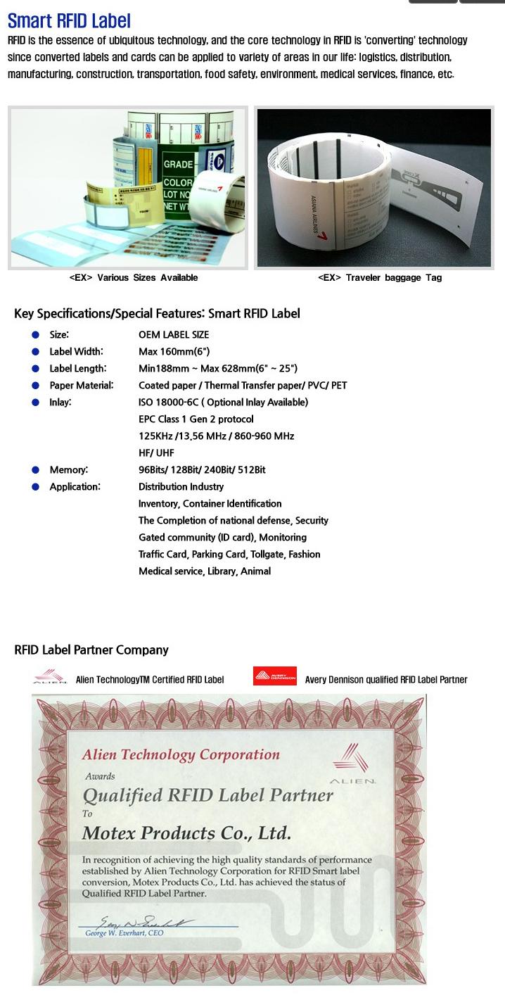 MOTEX For RFID