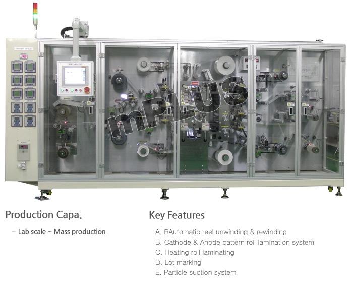 mPLUS MEA Laminating System