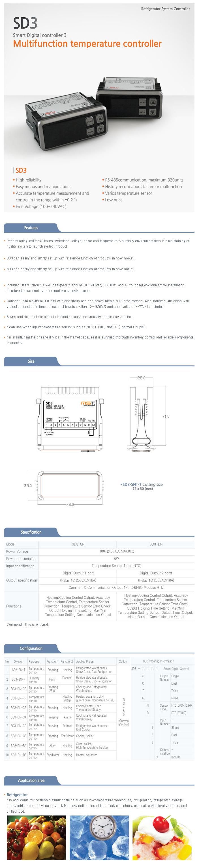 MST Multi-function Temperature Controller SD3