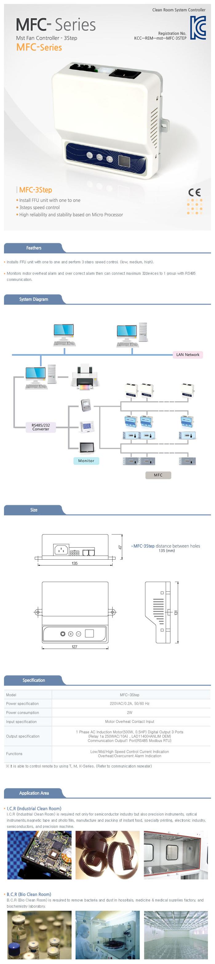 MST Fan Control 3steps MFC-3 Step