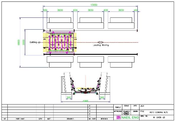 NAEIL ENG Double Loading M/C NI-2436-LD-DM 1