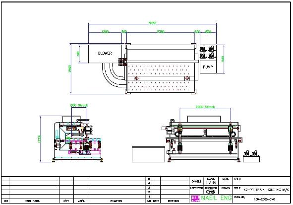 NAEIL ENG CNC Drilling M/C NI-302G-PR 1
