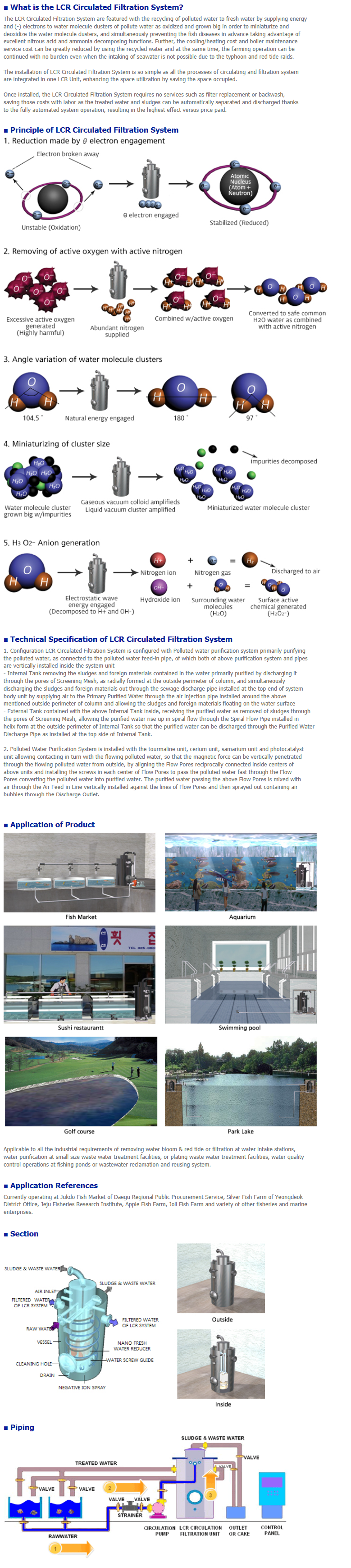NEGATRON LCR Circulated Filtration System