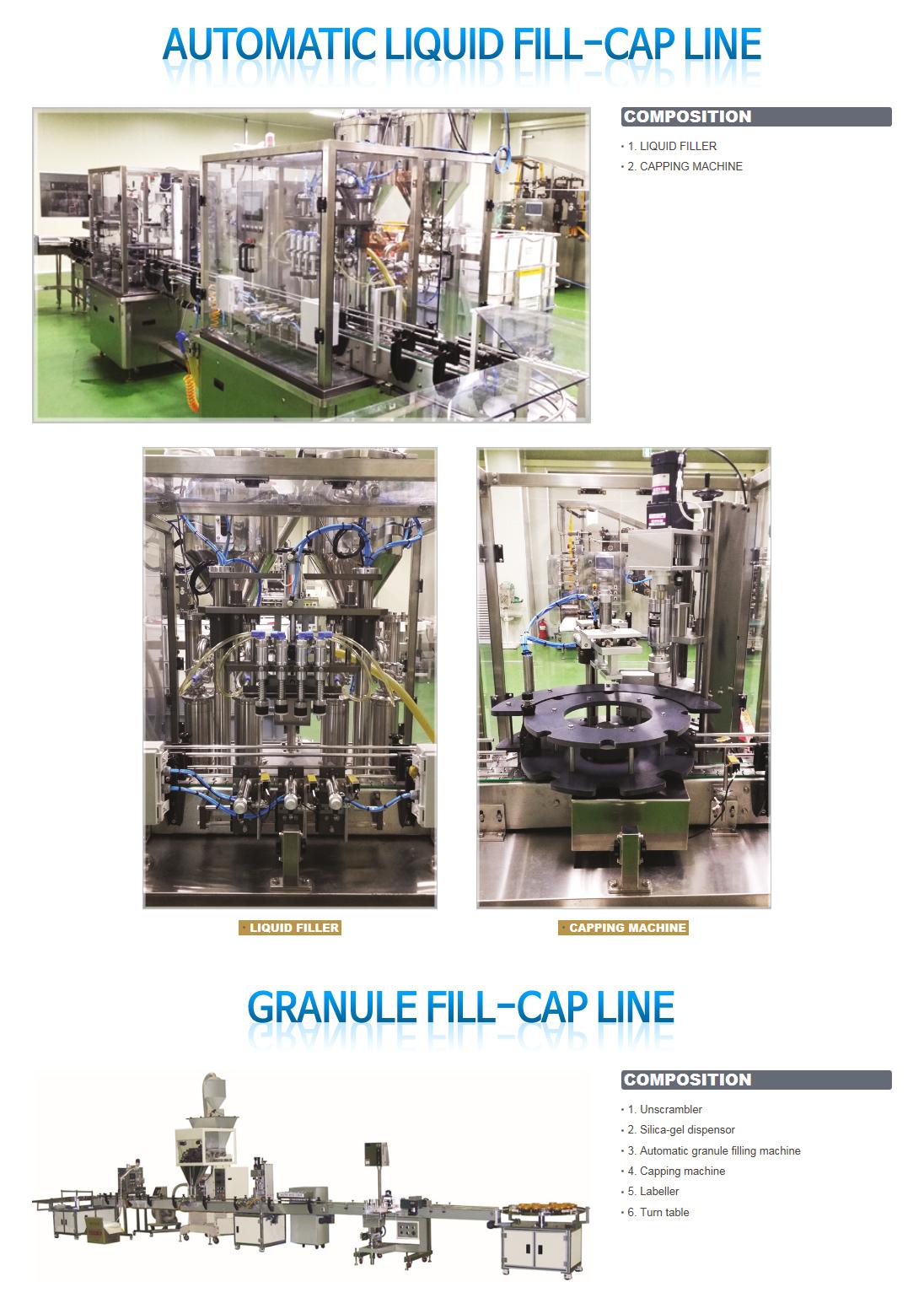 NURI PACK Bottling line