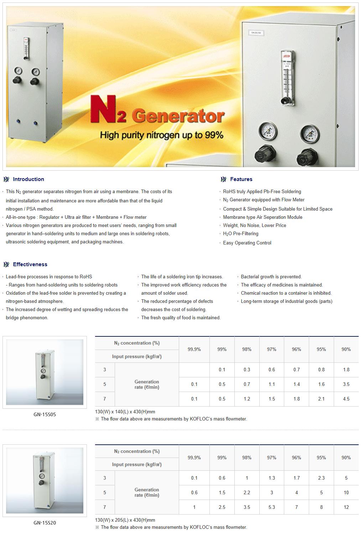 BHL N2 Generator (Air Dryer)