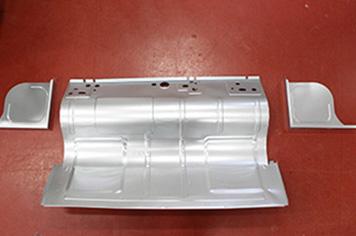 Weltop Technos Refrigerator CABI bottom inverter spot welding automation