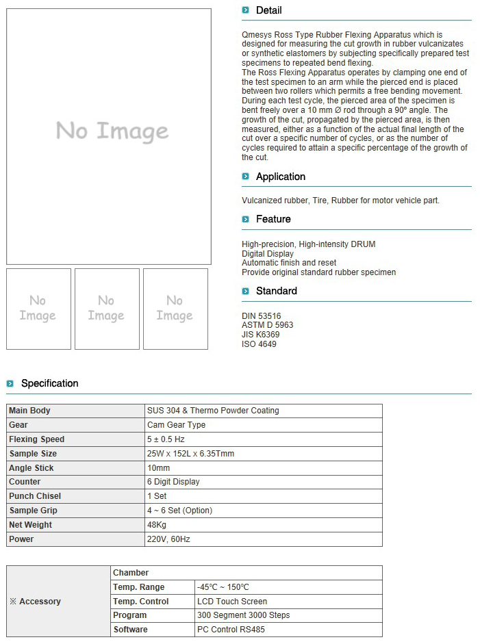 QMESYS ROSS Flexing Tester QM650R