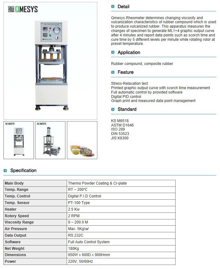 QMESYS Rheometer QM940