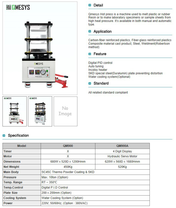 QMESYS Hot Press QM900