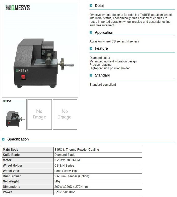 QMESYS Wheel Refacer QM650TR