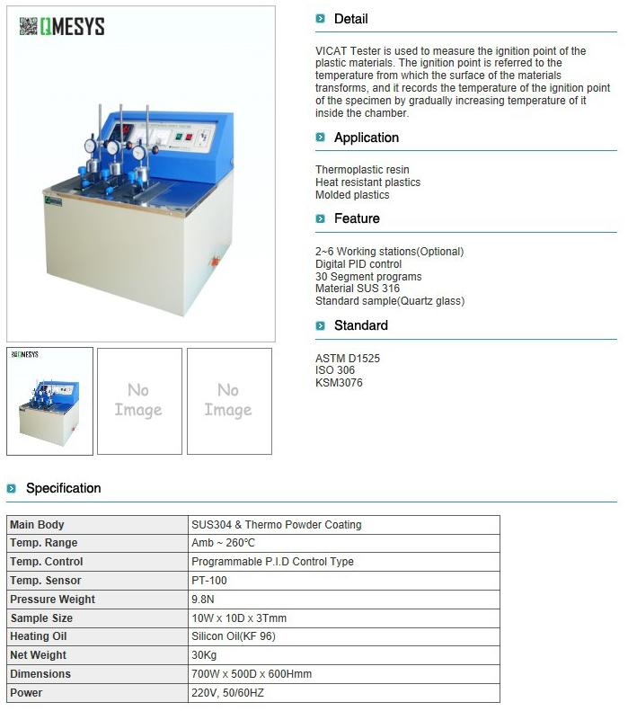 QMESYS VICAT Tester QM950V