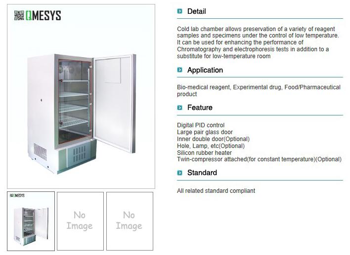 QMESYS Cold Lab Chamber QM410C