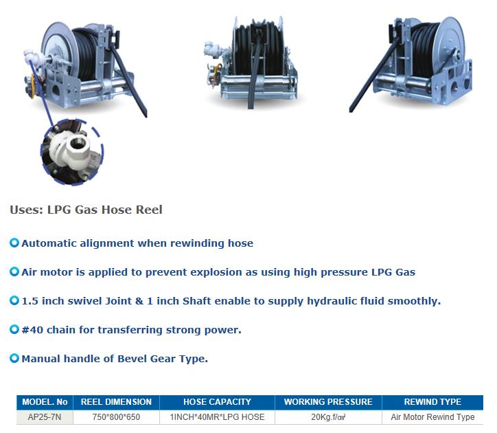 REEL TECH Power Rewind Type AP-N-Series