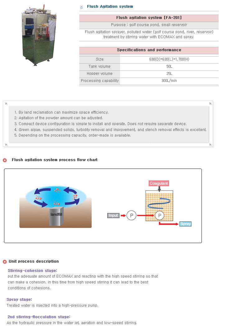 S&T Korea Flush Agitation System FA-201