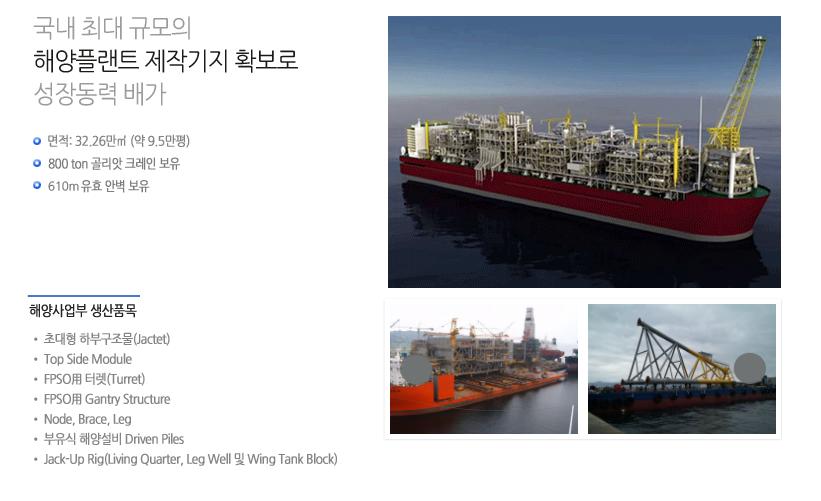 삼강엠앤티 해양사업부  1
