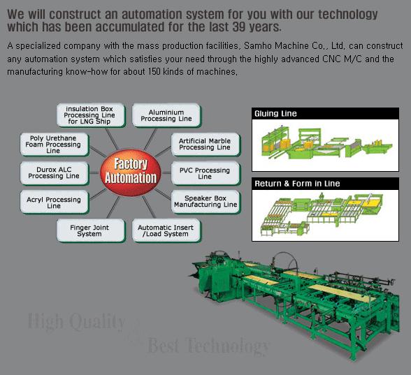 SAMHO MACHINE Automation