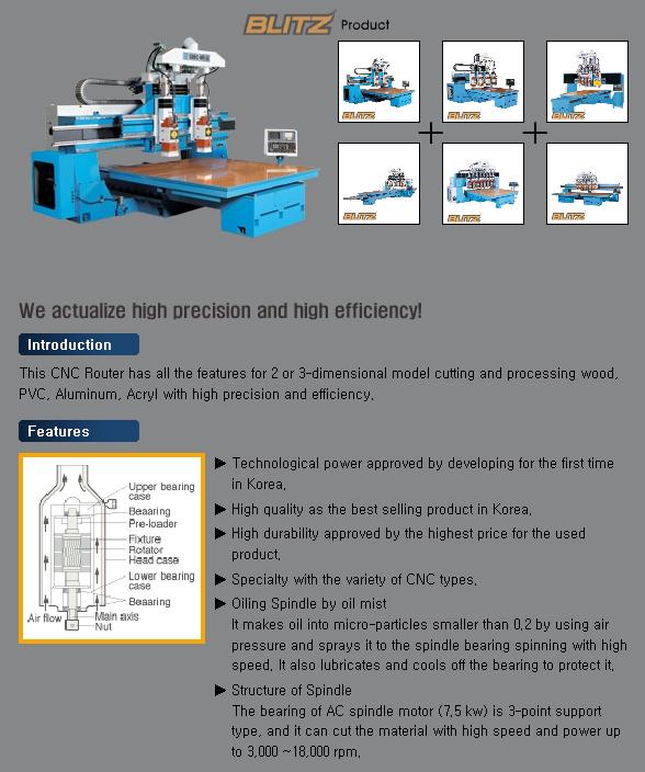 SAMHO MACHINE CNC Router