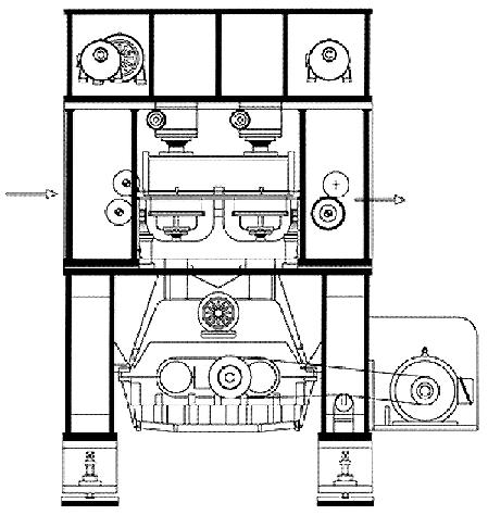 SAMHWA MACHINERY Needle Punching Machine SHD-UR 2400 ~ 3000