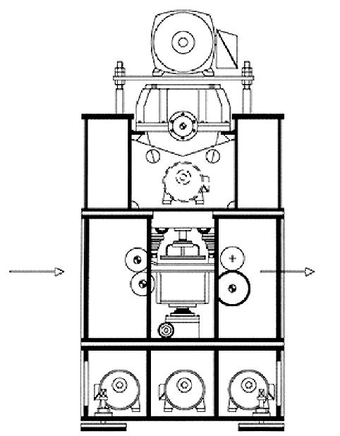 SAMHWA MACHINERY Needle Punching Machine SHS-DR 3400 ~ 6000