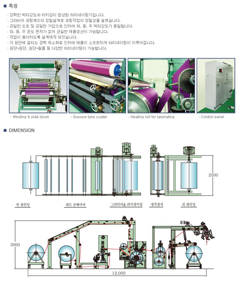 (주)삼일기계 라미네이팅기  1