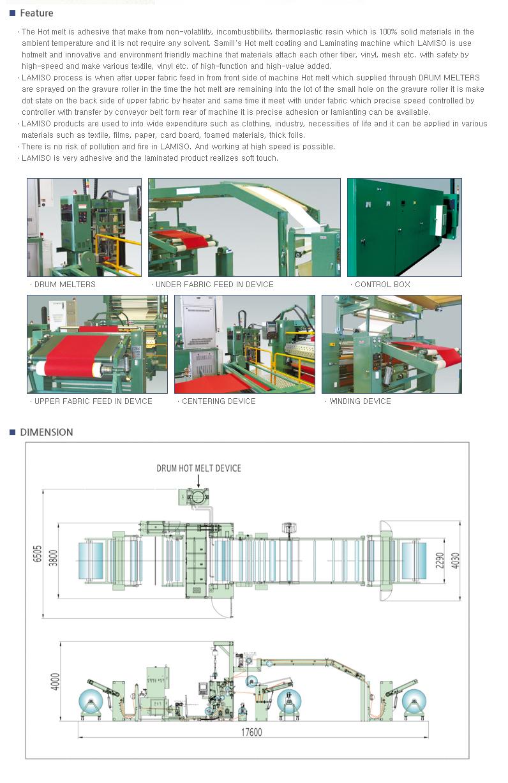 SAMIL MACHINERY Laminating Machine LAMISO