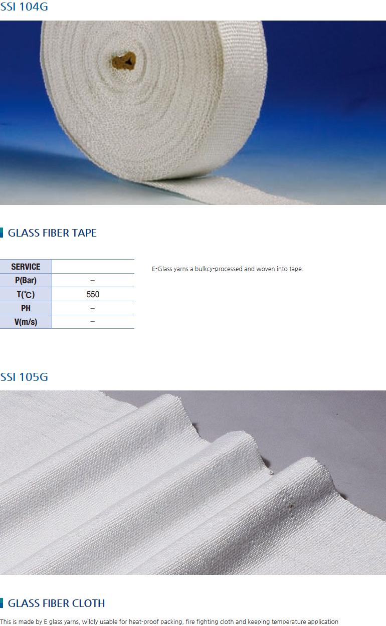 Samsung Industry Glass Fiber Tape / Cloth SSI-104G/105G