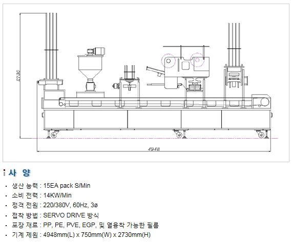 삼성포장기 Multi Type 포장기 SP3000-M 1