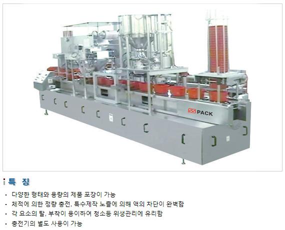 삼성포장기 Multi Type 포장기 SP3000-M