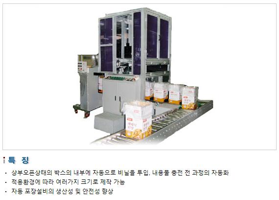 삼성포장기 비닐 자동 투입기 SP-L Series