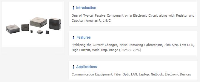 Samwha Electric Inductor  1