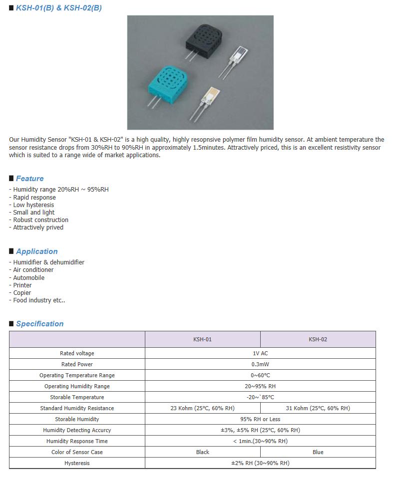 Sangshin Elecom HumidIty Sensor  1