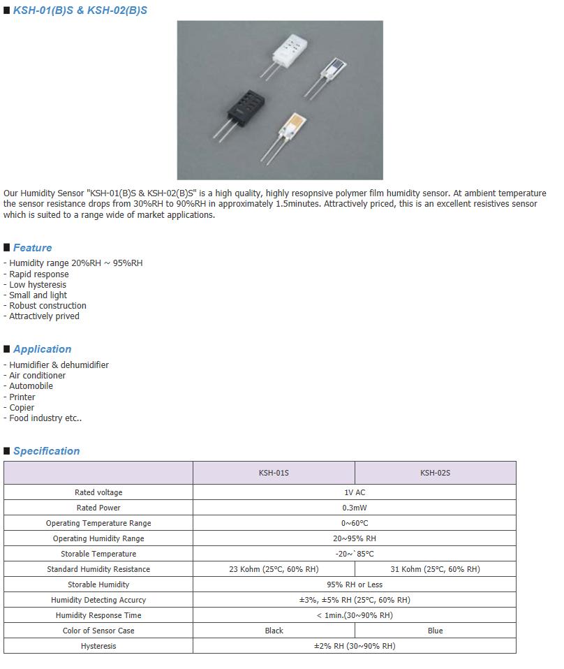 Sangshin Elecom HumidIty Sensor  2