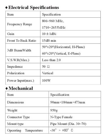 한국안테나 Yagi Antennas  10