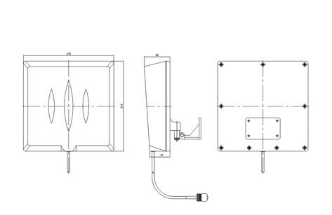 한국안테나 Patch Antennas  20