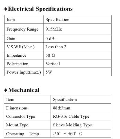 한국안테나 Portable Two Way Antennas  4