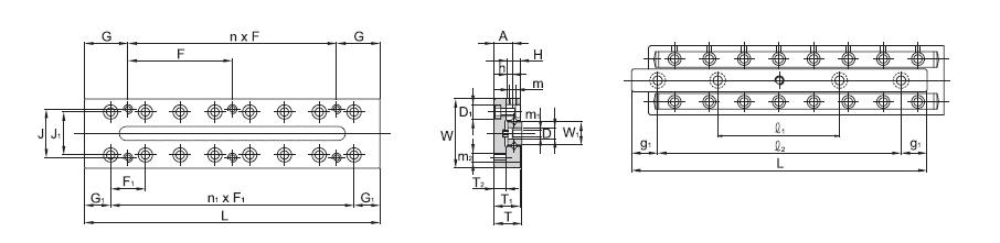 SBC LINEAR Cross Roller Guide SCVRU 1