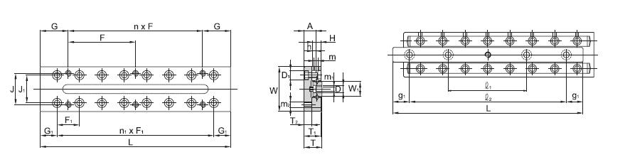 SBC LINEAR Cross Roller Guide SCVRT 3-A
